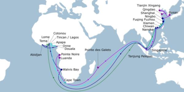 出口海运线路