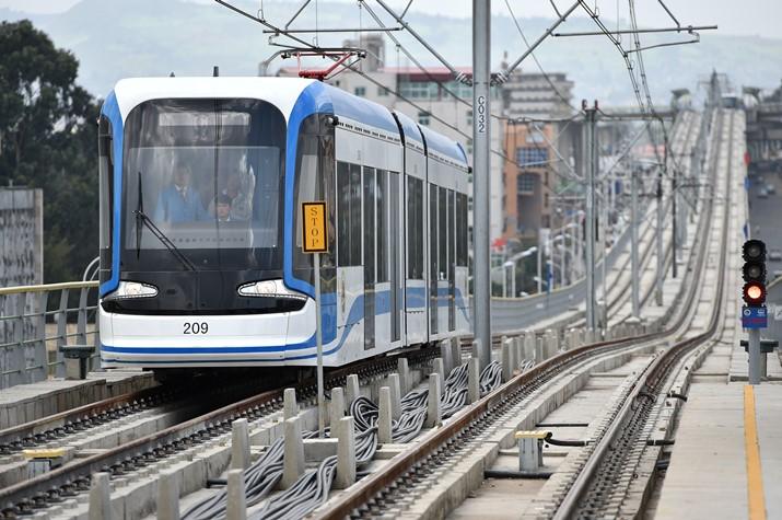 中铁埃塞俄比亚轻轨项目1