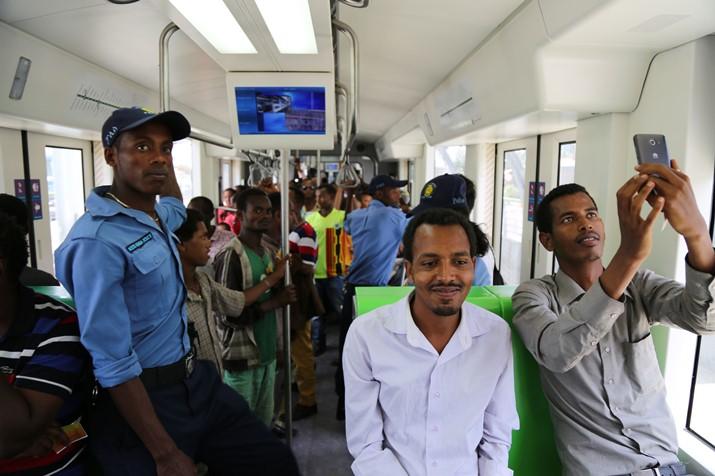 中铁埃塞俄比亚轻轨项目2