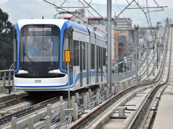 中铁埃塞俄比亚轻轨项目