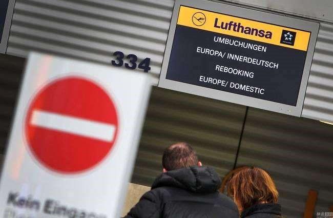 德国汉莎航空取消航班,国际空运力减弱