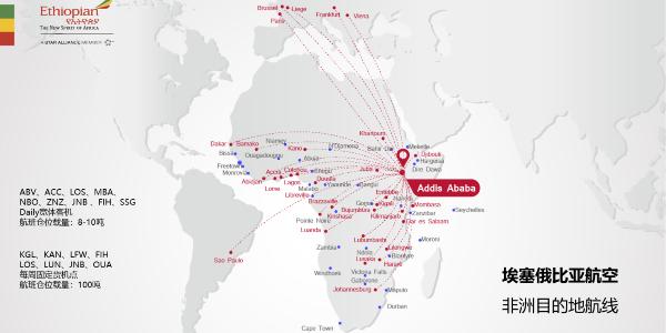 埃塞俄比亚非洲航线