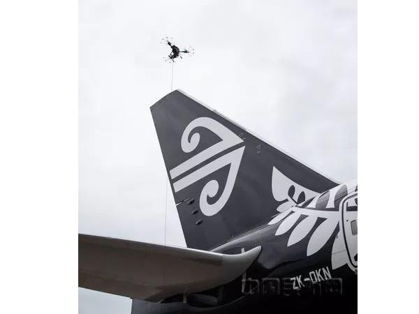 新西兰航空:已用无人机检修飞机